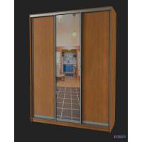Шкаф-купе с 1 зеркальной дверью