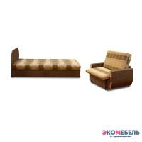 Набор тахта «Оливия» с 1 спинкой (с пружинным блоком)  + диван «Дьюк»