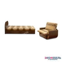 Набор тахта «Оливия» с 1 спинкой (с ППУ)  + диван «Дьюк»