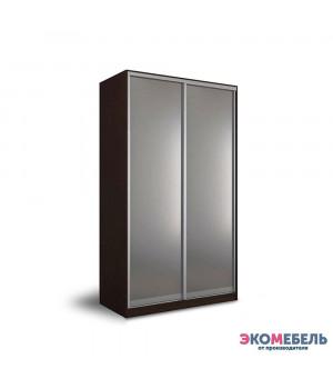 Шкаф-купе 2х-дверный с 2 зеркалами 1200x2300