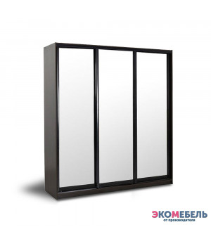 Шкаф-купе 3х-дверный с 3 зеркалами