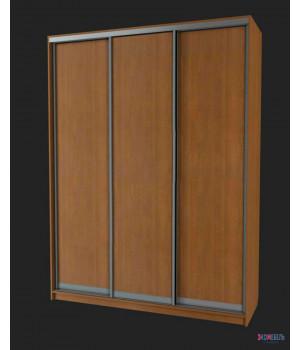 Шкаф-купе с 3 глухими дверями