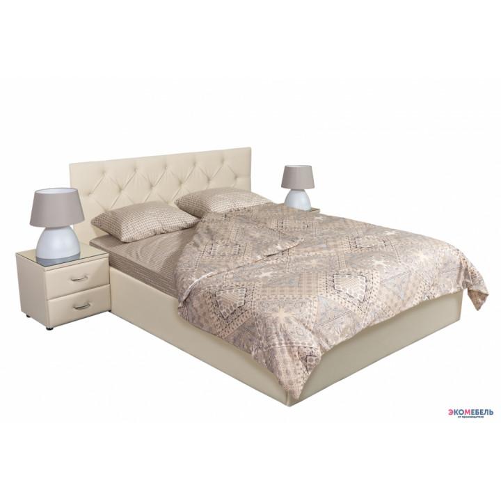Кровать Роза с подъемным механизмом и ящиком для белья