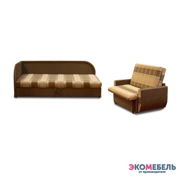 Набор тахта «Оливия» с 2 спинками (с пружинным блоком)  + диван «Дьюк»