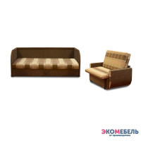 Набор тахта «Оливия» с 3 спинками (с ППУ)  + диван «Дьюк»