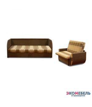 Набор тахта «Оливия» с 3 спинками (с пружинным блоком)  + диван «Дьюк»
