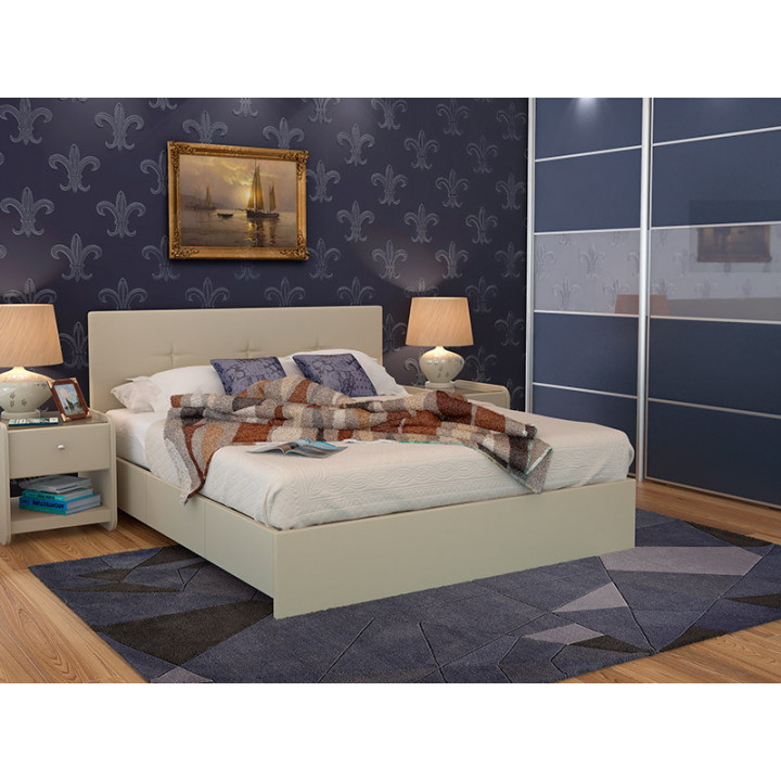 """Кровать """"Isabella"""" с подъемным механизмом и ящиком для белья"""
