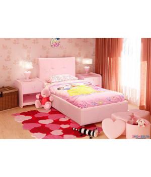 """Детская кровать """"Лео"""" с подъемным механизмом и ящиком для белья"""