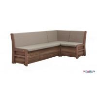 Кухонный угловой диван «Этюд» со спальным местом