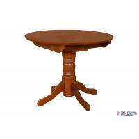 Стол обеденный раздвижной круглая крышка массив