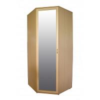 Шкаф угловой с зеркалом 445