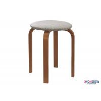 Табурет «Нести» с мягким сиденьем из массива