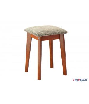 Табурет «Венеция» с мягким сиденьем из массива