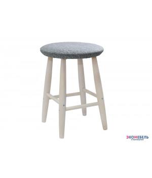 Табурет «Сони» с мягким сиденьем из массива
