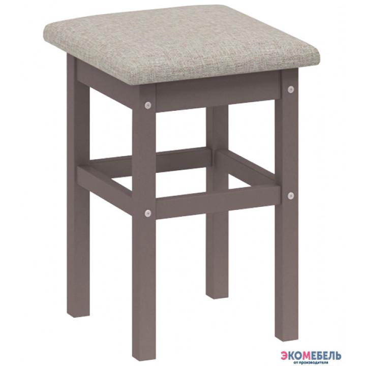 Табурет «Локи» с мягким сиденьем из массива