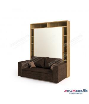 Кровать-трансформер с диваном VEGA - Люкс с антресолью и пеналом