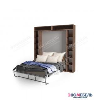 Кровать-трансформер VEGA с открытым пеналом и антресолью